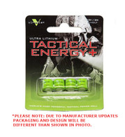 Viridian Tactical Energy Ultra Lithium CR1/3N 3V Batteries Pack of 4 (VIR-13N-4)