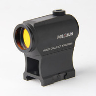 Holosun Compact Red Dot Sight 2 MOA Dot/65 MOA Circle-Solar/Battery (HS503C)