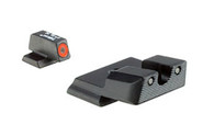 Trijicon S&W M&P SHIELD HD Tritium Night Sight Set-Orange Ring (SA139-C-600722)
