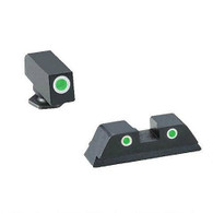 Ameriglo Glock Classic 3 Dot Tritium Night Sight Set W/White Outline  (GL-113)