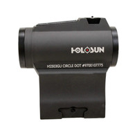 Holosun Micro Red Dot Sight-2 MOA Dot/65 MOA Circle-Battery Powered (HS503GU)