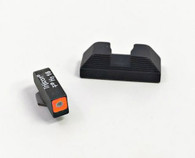 Ameriglo Glock  42/43 Spaulding Set With Orange Square Outline Front (GL-647)