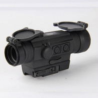 Holosun Red Dot Sight-2 MOA Dot-Battery & Solar Powered (HS402C)