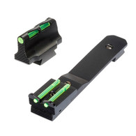 HIVIZ Sights Henry Rifle Sight Set With Interchangeable LitePipes (HHVS41)