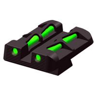 HIVIZ Sights Glock 9mm/.40 S&W/.357 SIG/ Interchangeable Rear Sight (GLLW15)