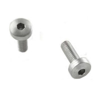 Hogue EXTREME Grip Screws-Browning Hi-Power-Hex Head-Stainless-Pack of 2 (09019)