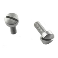 Hogue EXTREME Grip Screws-Browning Hi-Power-Slotted-Stainless-Pack of 2 (09018)