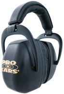 Pro Ears Ultra Pro Passive Hearing Protection Muffs NRR 30-Black (PEUPB)