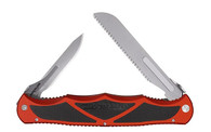 Havalon Hydra Double Folding Knife-Quick Change Blade System-Red (XTI-HYDBRBS)