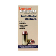 Lyman Load Data Book Semi Auto Reloading Data (9780004)