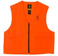 Browning Safety Blaze Overlay Hunting Vest-Blaze Orange-XXXL (3051000106)