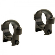 "Burris 1"" Zee Rings-Low Weaver Style-Black Matte (420083)"
