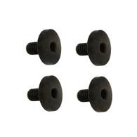 Hogue EXTREME Grip Screws-Beretta/Taurus-Hex Head-Black-Pack of 4 (92009)