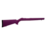 Hogue 10/22 Overmolded Stock .920 Barrel, Purple-22016
