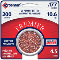 Crosman Copper Magnum .177 Caliber Pellets-Pack of 200 (CPD77)