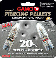 Gamo PBA Armor .177 Cal Piercing Pellets-Lead Free-Pack of 80 (632263454)