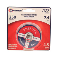 Crosman Destroyer .177 Cal Pointed Lead Pellets-Pack of 250 (DS177)
