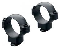 Leupold Dual Dovetail 30mm Scope Rings-Medium Height-Matte Black (49957)