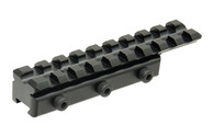 Leapers UTG Dovetail to Picatinny/Weaver Rail Adaptor Mount (MNT-PMTOWL-A)