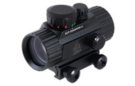"Leapers UTG 3.8"" ITA Red/Green CQB Dot Sight W/Integral Mount (SCP-RD40RGW-A)"