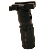 """Leapers UTG 4.7"""" Low Profile Foldable Metal Foregrip W/QD Lock (MNT-GRP002SQ)"""