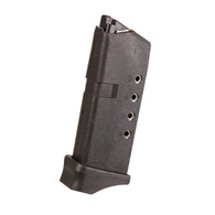 ProMag 6 Round 9mm Polymer Magazine For Glock 43-Black (GLK 12)