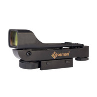 "Crosman Wide View Red Dot Reflex Sight For 3/8"" Dovetail Mount (0290RD)"