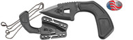 Ka-Bar TDI Shark Bite Tactical Defense Knife-Black (9908)