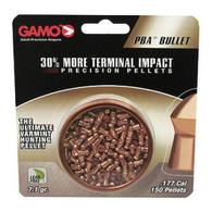 Gamo PBA Bullet .177 Caliber Lead Free Pellets-Tin of 150 (632272054)
