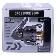 Daiwa Crossfire 2500 Spinning Reel-FW/SW ML/L 5.3:1 (CROSSFIRE2500-CP)