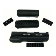 Hogue AK-47 Overmolded Forend Rubber Grip Area, Black-74004