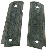 "Hogue 1911 Government/Commander 3/16"" Thin Grips G-10 Checkered G-Mascus Green-01478"