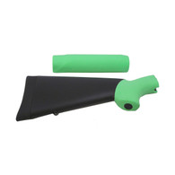 Hogue Mossberg 500 Overmolded Shotgun Kit, Zombie Green 05013