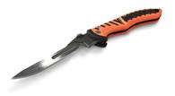 Havalon New Forge Folding Knife W/Replacement Blades-Orange (XTI-60ARHO)