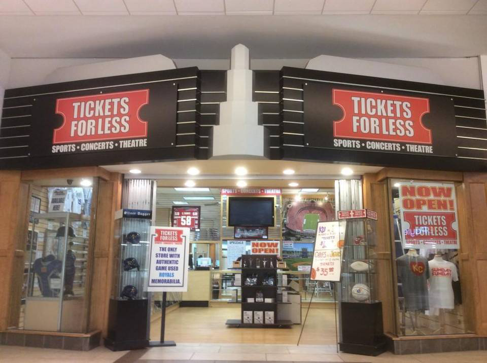 Tickets For Less Oak Park Mall location