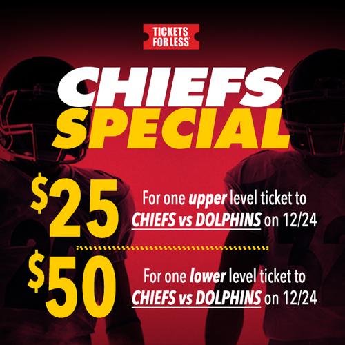 Chiefs vs Miami Dolphins Special
