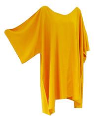 Plain Top Blouse Buttersoft Wide Sleeved Rayon Kaftan  - Freesize