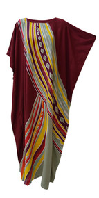 AURORA Stunning Kaftan Caftan Buttersoft Beach Cover Up Long Cool Dress Plus Ladies Robe