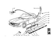 BMW 2800cs 3.0cs Rocker Panel Moulding
