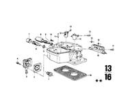 BMW 2002 Insulator Plate for Carburetor