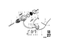 BMW 2002 Push Rod for Carburetor