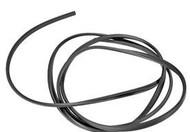 BMW E30 325 Black Windshield Trim Molding