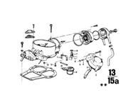 BMW 2002 518 Carburetor Fuel Float Valve Assembly