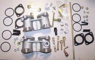 BMW 2002 320i INstallation kit for Weber 40 Sidedraft Carburetor