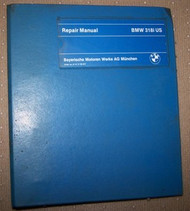 BMW 318i Factory Repair Manual E30