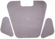 BMW 2800cs 3.0cs 3.0csi Hood Insulation Pad Set