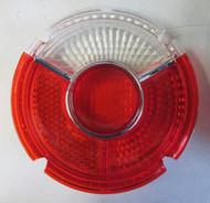 BMW 2002 Round Tail Light Lens Red Center