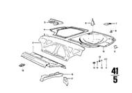 BMW Towing Bracket for E3 E9 E12 E24