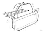 BMW Door Gasket Cover