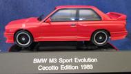 1989 BMW M3 Sport Evolution Cecotto Model 1:43 AUTOart